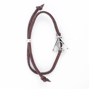 Harry Potter: Deathly Hallows Bracelet (Brown)