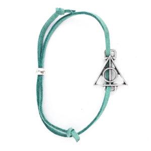 Harry Potter: Deathly Hallows Bracelet (Green)