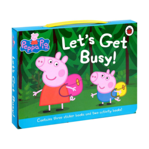 Peppa Pig Let's Get Busy Activity Set