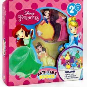 Disney Princess: Bath Time Books Box-Set