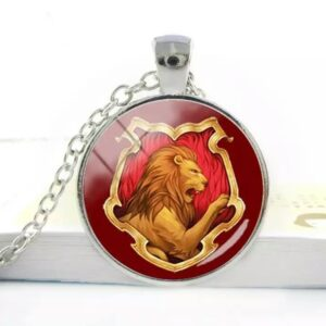 Harry Potter: Griffyndor Cabochon Pendant Necklace