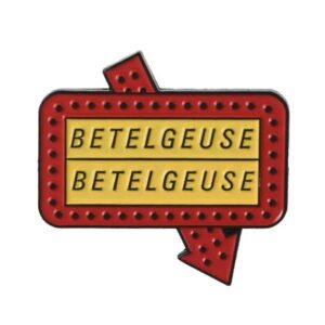 Beetlejuice Betelgeuse Pin
