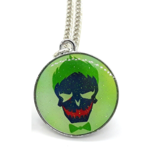 DC Comics: The Joker Skull Pendant Necklace