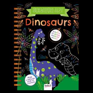 Scratch Art – Dinosaurs