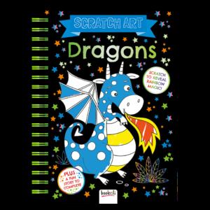 Scratch Art – Dragons