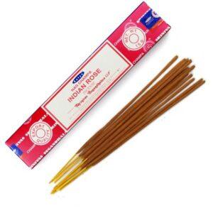 Satya Nag Champa Indian Rose Incense Box (15 Sticks)