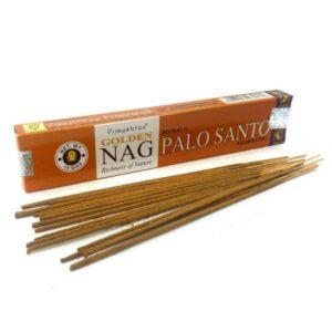 Vijayshree Golden Nag Palo Santo Incense Box (15 Sticks)