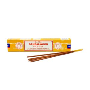 Satya Nag Champa Sandalwood Incense Box (15 Sticks)