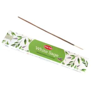 HEM White Sage Incense Box (15 Sticks)